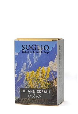 Johanniskraut-Seife